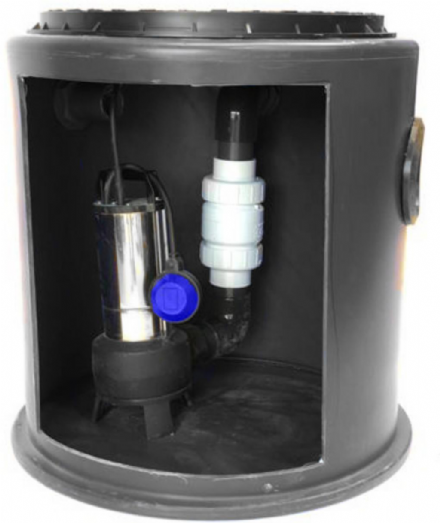 JTFS Mini Micro Maz Sewage Macerator Pumping Station (190ltr) upto 20m lift